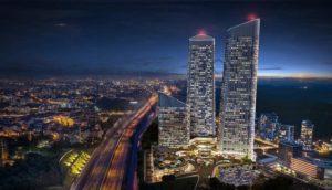 luxury residential tower