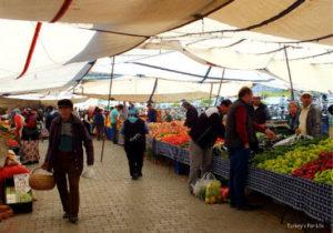 بازار هفتگی ترکیه