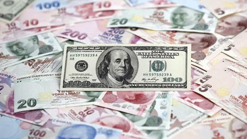 نرخ لیر به دلار